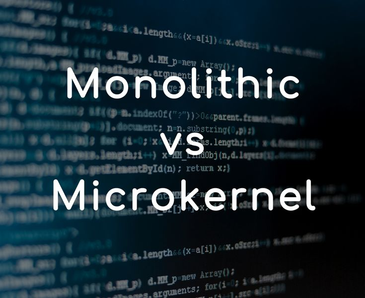 Difference between #Monolithic and #Micro #Kernel https://www.geekboots.com/story/difference-between-monolithic-and-micro-kernel