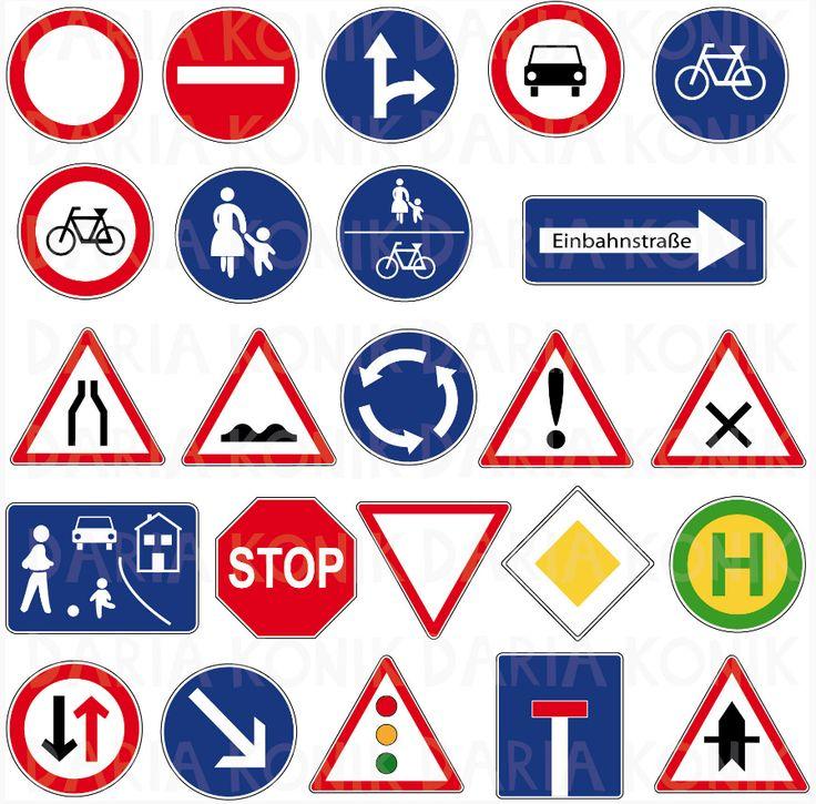 Baustellenschilder zum ausdrucken  Die besten 20+ Verkehrsschilder Ideen auf Pinterest | Die kuh, hab ...
