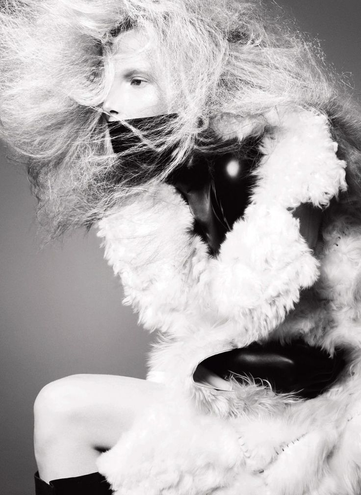 V Magazine Editorial No.84 Fall Preview 2013 - Suvi Koponen by Solve Sundsbo
