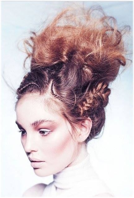 Ethereal braiding #hairinspiration