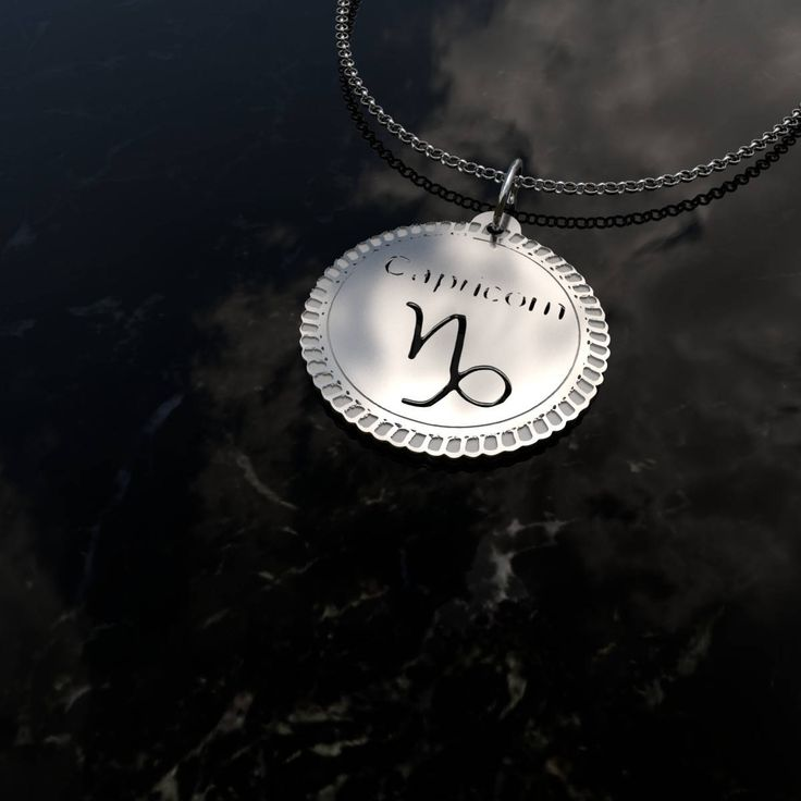 Excited to share the latest addition to my #etsy shop: Capricorn necklac - Capricorn zodiac constellation necklace - Capricorn medallion necklace - Capricorn horoscope necklace http://etsy.me/2F7YGYH #jewelry #necklace #silver #girls #zodiac #circle #capricornnecklace