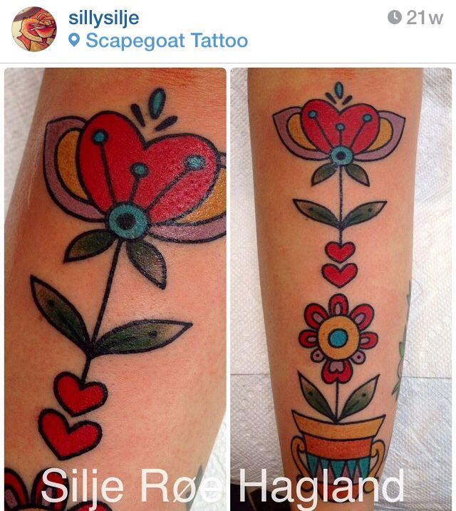 The 25 best scandinavian tattoo ideas on pinterest rune for Norwegian flower tattoo