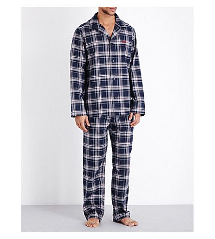 BOSS - Cosy cotton pyjama set | Selfridges.com