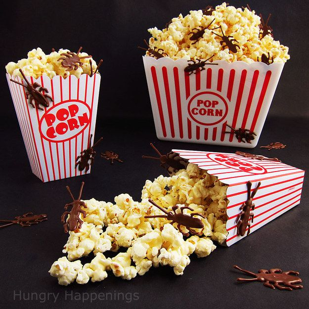 Throw some surprises in the popcorn. | 17 Things For An American Horror Story Freak Show Halloween Party