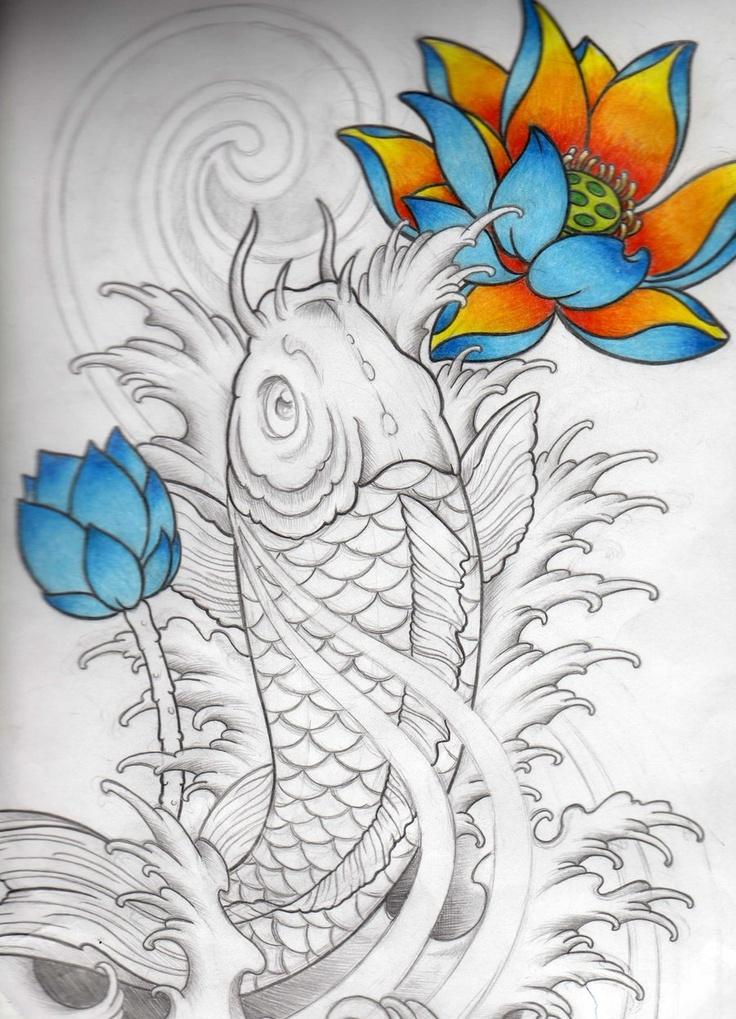 Les 721 meilleures images du tableau fish art sur for Livre carpe koi