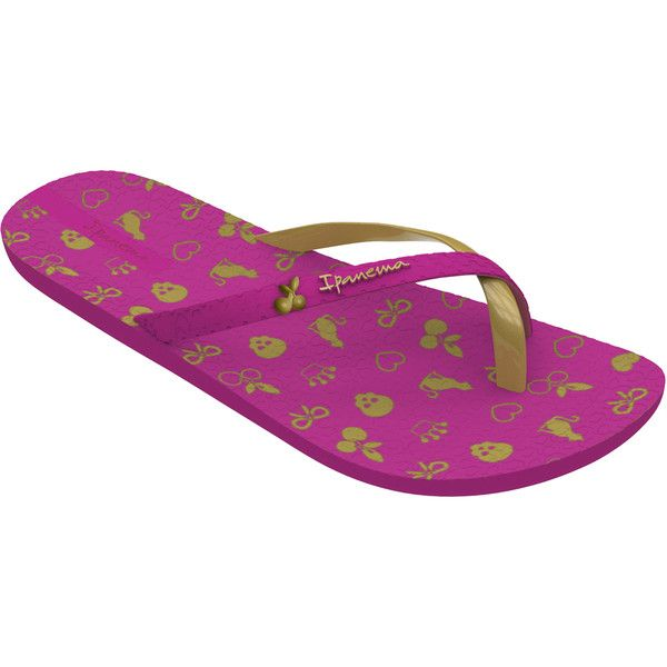 Ipanema Flip-flops - Mix Enc. - Hot Pink ($23) ❤ liked on Polyvore featuring shoes, sandals, flip flops, hot pink, ipanema, flip flop sandals, hot pink sandals, ipanema shoes と ipanema sandals