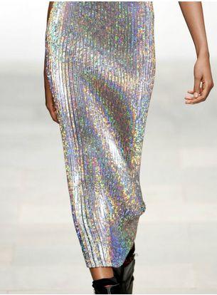 opalescent skirt- fab