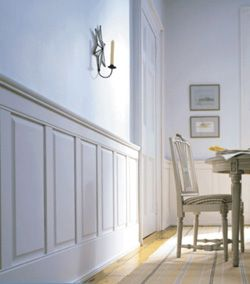 What Wainscot Was Used In  Dining Rooms New England