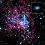Colosal hoyo negro en el centro de la Vía Láctea es captado por rayos X Clic en la foto para leer el artículo