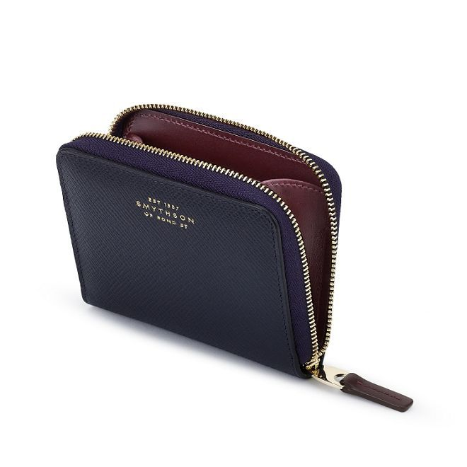 Panama Zip Coin Purse - Smythson