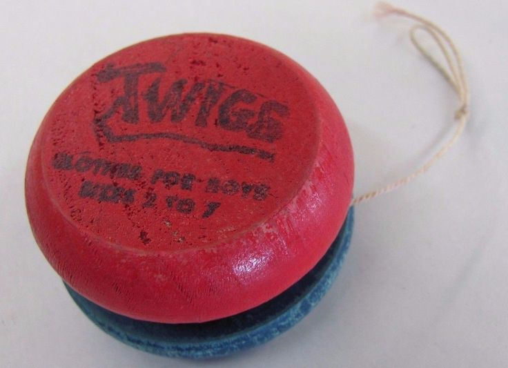 Vintage TWIGS Advertising YO-YO Clothes For Boys Clothing Store Brand Wood Neat! | eBay