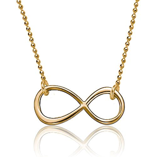 12 best infinity necklace pendant images on pinterest infinity gold plated simple infinity engraved name custom made any name necklace pendant sterling silver pendant pugster aloadofball Choice Image