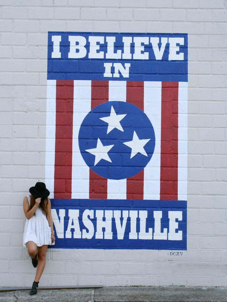 I believe in Nashville! Check out our travel diary at http://thelittlethingsdiy.com!