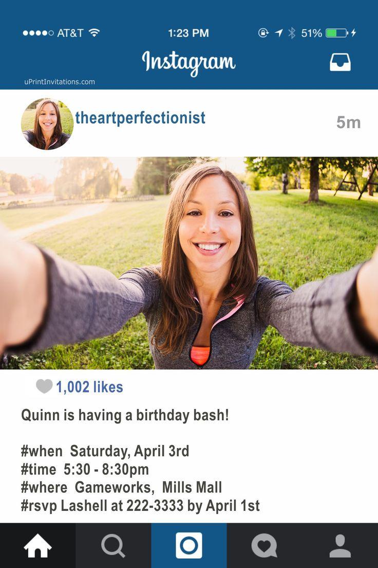 Best Adult Birthday Party Invitations Images On Pinterest - Free online birthday invitation website