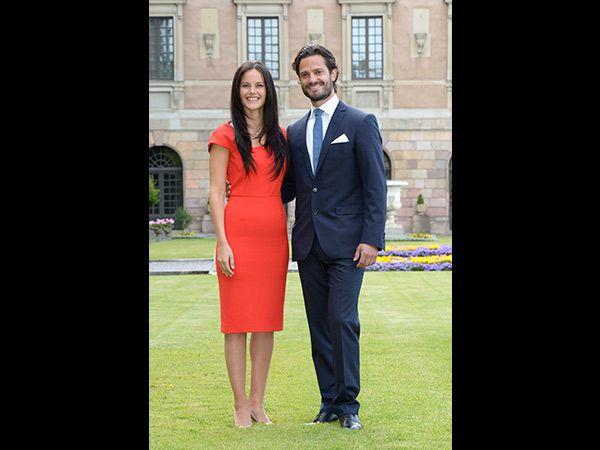 Sofia Hellqvist & Prinz Carl Philip (Quelle: TT News Agency)