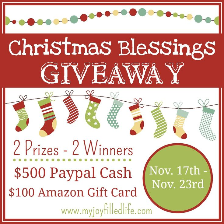 Christmas Blessings Giveaway - Ben & Me Blog