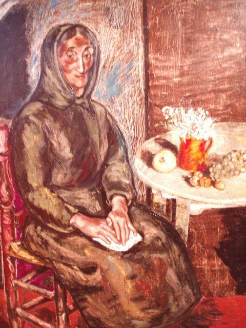 Benjamin palencia mujer de vila 1948 museo de albacete - Pintores en palencia ...