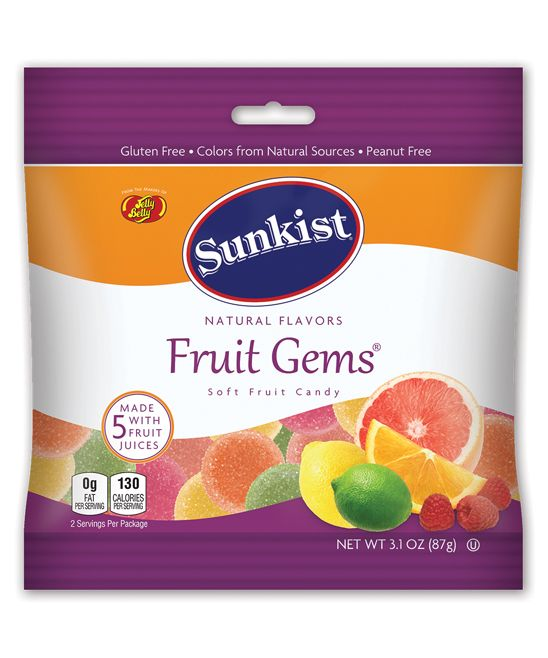Sunkist Fruit Gems - Set of 12