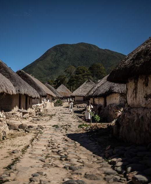 Poblado tayrona. Sierra nevada de Santa Marta, Colombia