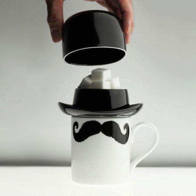 Bowler Hat Sugar Bowl - $30