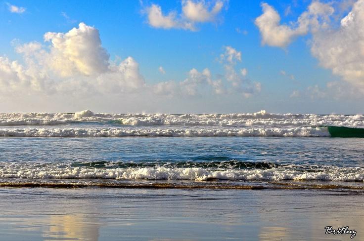 Series de olas.