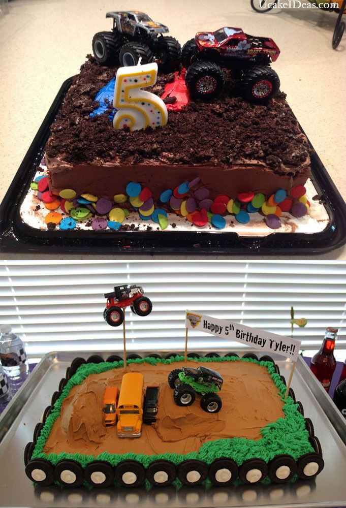 top cake-->Homemade Monster Truck Cake Ideas : 2014 Cake Designs Ideas