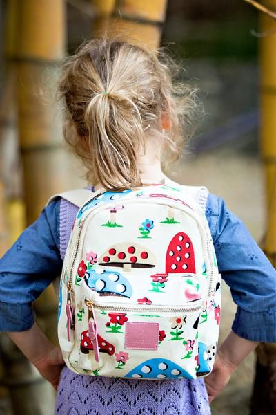 Totally Toadstools and totally adorable! Our Uno rangeof backpacks is specifically designed for children aged 1-6 years. They are made small and lightweight to cater and care for the littlest ofbacks. The bag's spacious internal pocket isperfect for storing all your child's essential daily items. key features: - soft canvas material - soft and comfortable shoulder straps - large zippers for easy opening and closing, - zipper tabs for little fingers - internal pocket and front po...