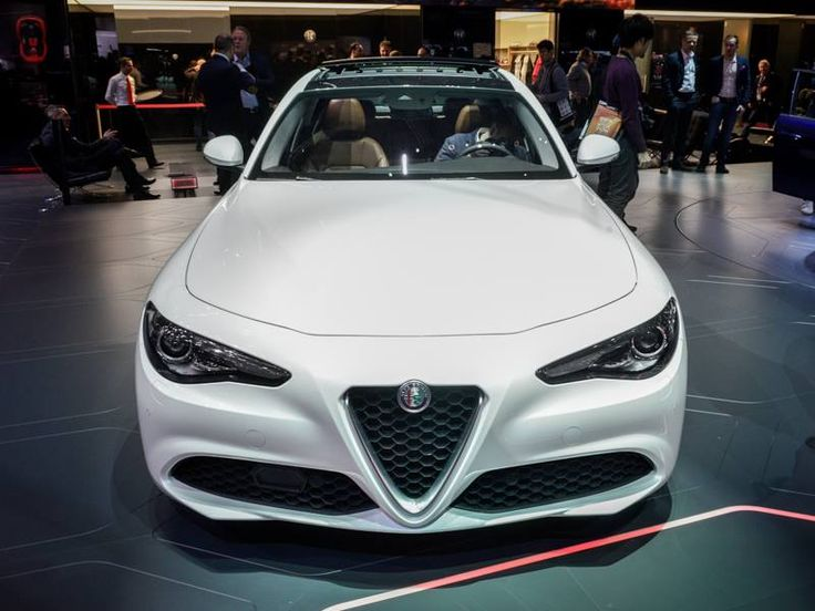 Alfa Romeo Giulia 2016 Międzynarodowy Salon Samochodowy w Genewie źródło: Alfa Romeo Official Page