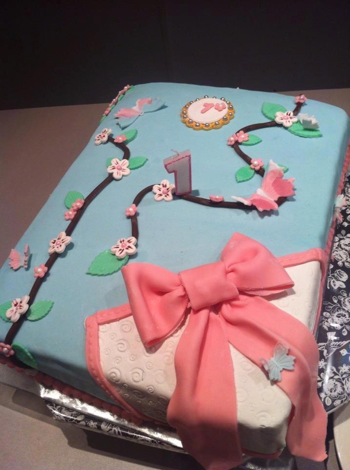 1 jaar taart meisje