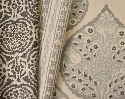 Galbraith & Paul new fabrics: Dining Rooms, Paul Lotus, Spring Fabrics, Pretty Fabrics, Fabrics Patterns, Fabrics Collection, Master Bedrooms, Families Rooms, Paul Fabrics
