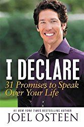 """I use """"I Declare"""", by Joel Osteen, as a daily devotional and it's the first thing I read when I wake up in the morning.  It helps readers reach the truth of God's word, and how speaking God's promises can bring about His blessings."""