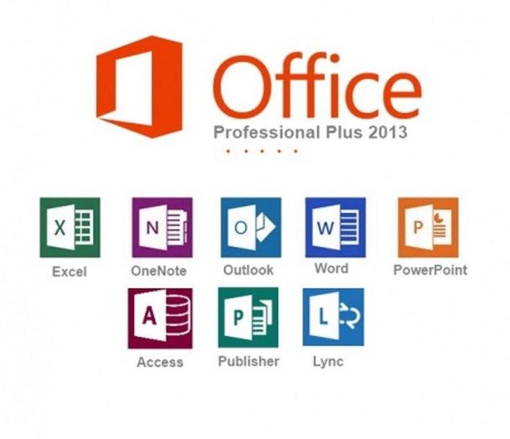 Windows Office 2013 Professional Plus 1PC 32-Bit & 64-Bit Produkt Key