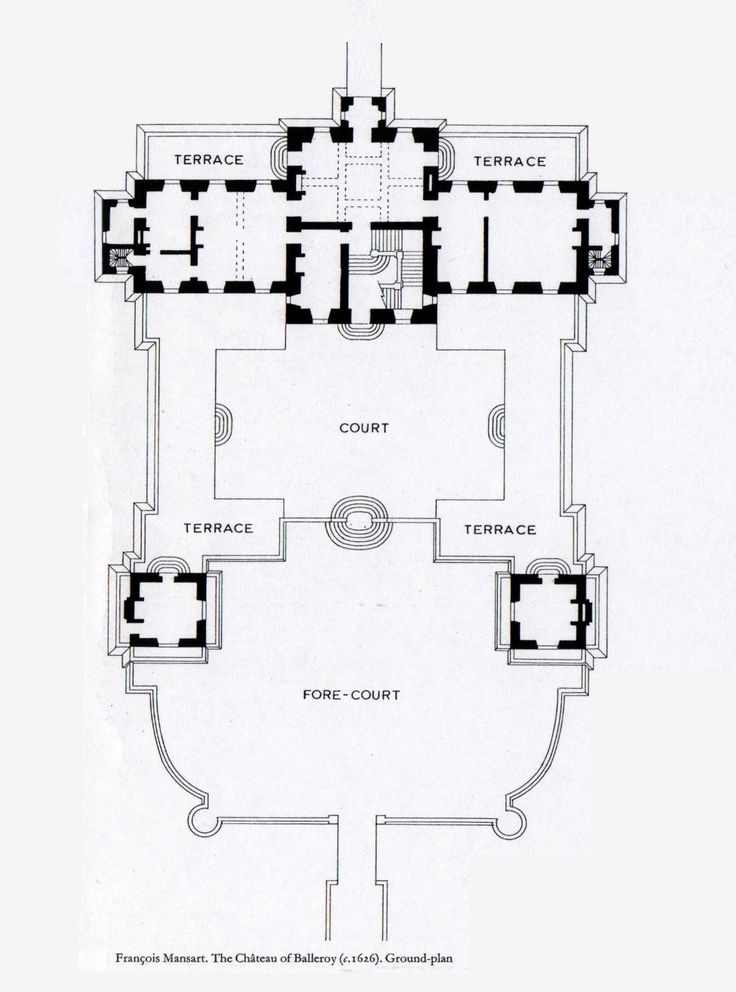 Small french chateau house plans chateau style house for French chateau floor plans