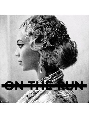 Beyoncé 20s hairstyle Part II (On the Run) single cover