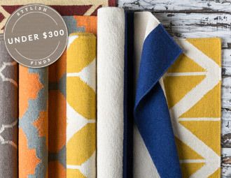Rugs Under $300 - Plush Wools, Elegant Art Silks & More on Joss and Main