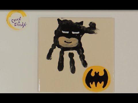 Crock A Doodle Pottery Painting Technique: Super Hero Hands - YouTube