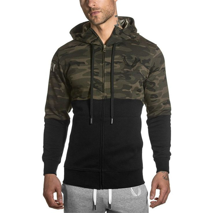 2016 Fashion Winter Camouflage Sweatshirt Hooded Tracksuits military Men's Hoodies Fitness Clothing Male Jackets Sportswear