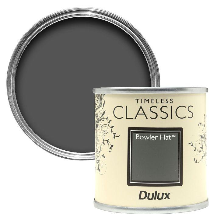 Dulux Timeless Classics Bowler Hat Matt Emulsion Paint 125ml Tester Pot | Departments | DIY at B&Q