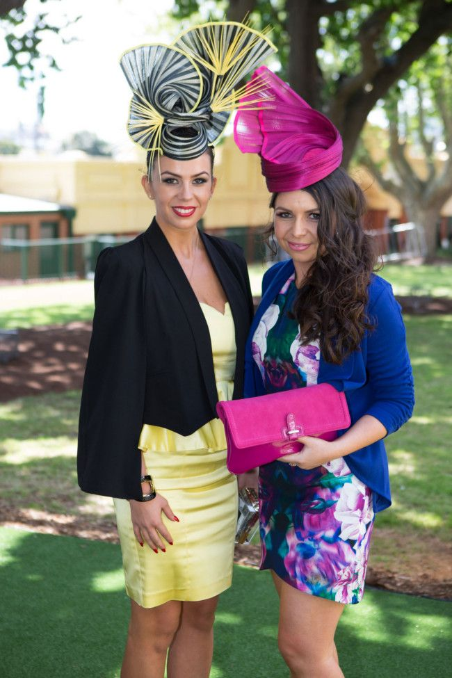 BMW Caulfield Cup 2013, Melbourne http://www.royaldressedladies.com/blog/empress-and-whore-in-a-exclusiv-ambience.html