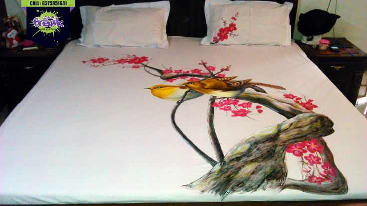 a creative bed sheet collection  exclusive by COLOR FREAK