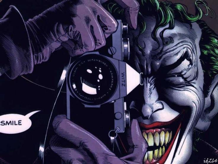 The Clown Prince of crime- The Joker