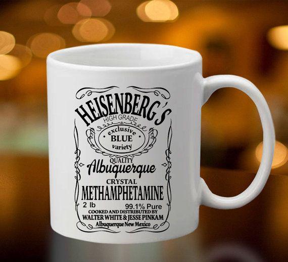 Breaking Bad Heisenberg's Mug  Coffee/Tea Mug by OredoDesignArt