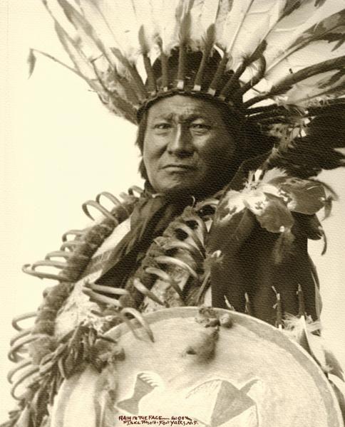 Rain in the Face– Frank Fiske photo; True West archives –