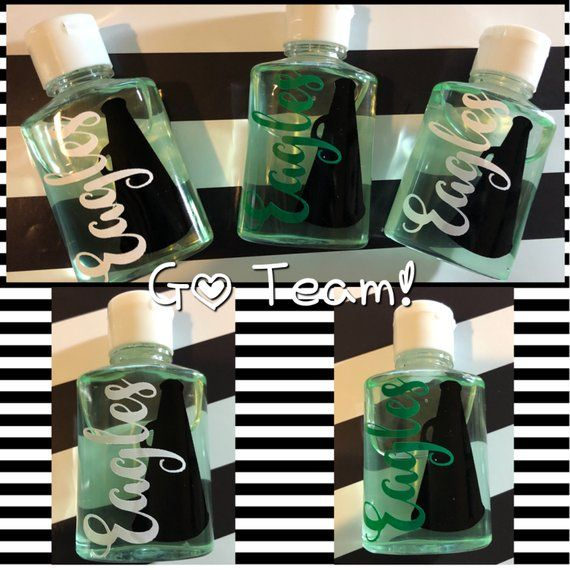 Hand Sanitizer Team Gifts Cheer Gifts Party Favors Cheer