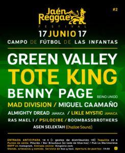 Jaén Reggae Festival Reggae y Hip Hop