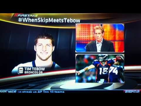 Tim Tebow responds to Jake Plummer's comment mocking his faith on the football field!