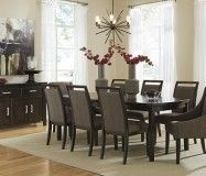 Mayview Dining SKU: PKGMID681  Featuring a rich brown finish & gray undertones that nicely compliment the rich birch.The Upper Room Home Furnishings, Ottawa's Premier Home Furniture Store.