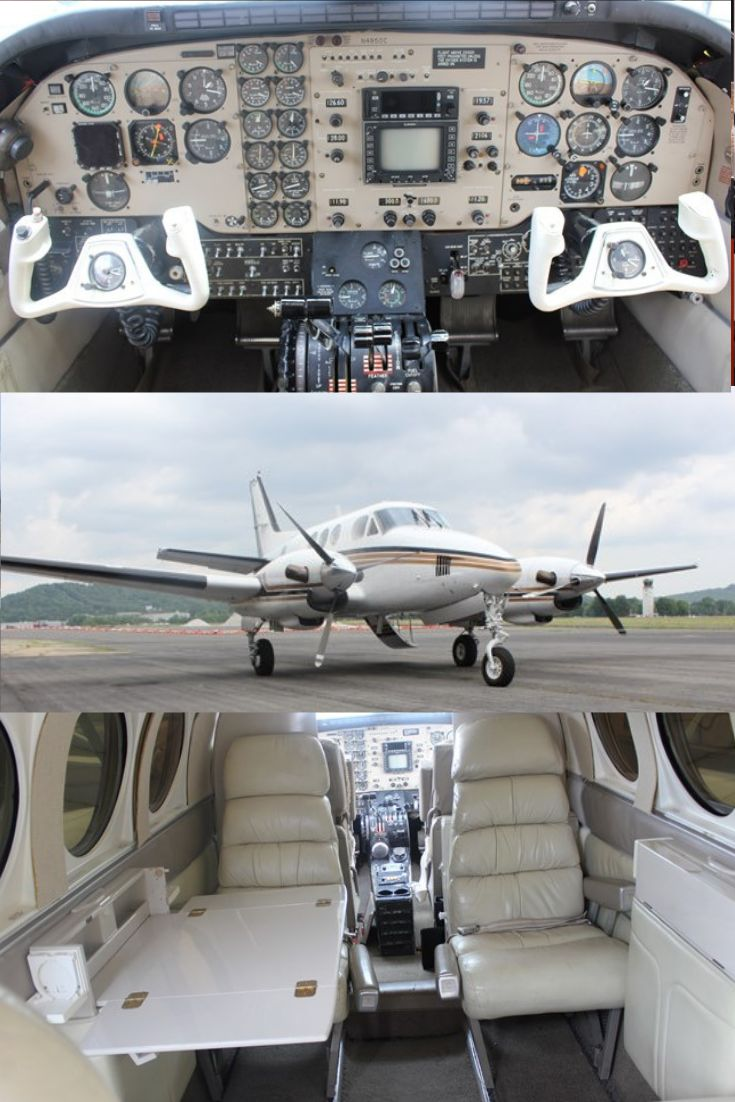 1974 King Air C90 For Sale! Luxury private jets