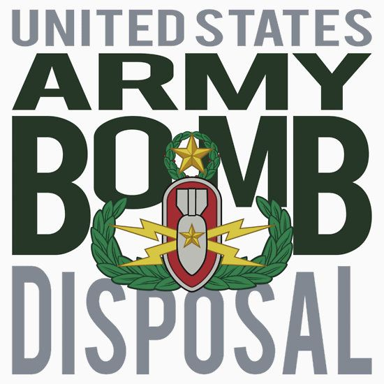USA Bomb Disposal EOD