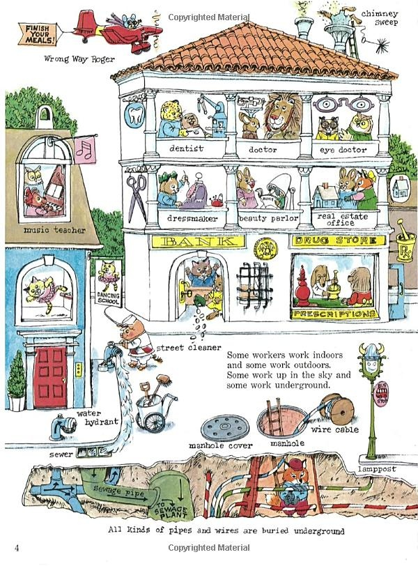 Amazon.com: Richard Scarry's What Do People Do All Day ...